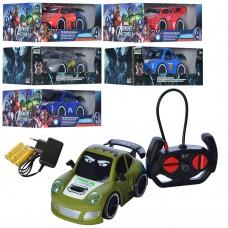 Машина ZR2043-2044 на радиоуправлении, батарейки, резиновые колеса