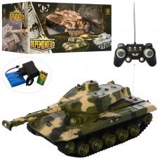 Танк M 3944 U на радиоуправлении, аккумулятор 1:32, 26см, звук, свет, поворот360, 2цв