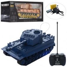 Танк XJ18-A на радиоуправлении, аккумулятор 25см, муз, свет, 2цвета