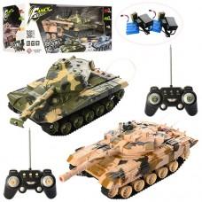 Набор игровой танковый бой HB-DZ03 на радиоуправлении, аккумулятор