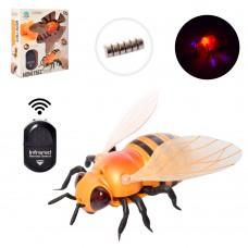 Насекомое 9923 на радиоуправлении, пчела, 11см, свет, ездит, ходит, бат таб