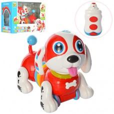 Собака BB396 на радиоуправлении, 25см, ездит, муз-зв англ, св, пианино, подв.голова, на бат