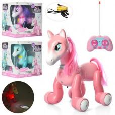 Животное 1031-32-33A лошадка, на радиоуправлении, аккумулятор 24см, проект, зв, св, ездит, USBзар, 2вид