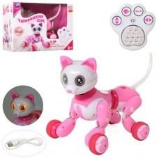 Животное SF21616 на радиоуправлении 2.4GHz, кошка28см, аккумулятор интер, муз-зв, св, ездит, танц, прогр, USBз, кор