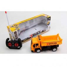 Машина 998-1Y-5Y на радиоуправлении, 20см, свет, рез.колеса, 2вида мусоровоз, самосвал