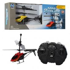 На радиоуправлении Вертолет 901 гироскоп, аккумулятор 18см, свет, пульт работает от 4-х батареек АА в комплект не входят, 2 цвета
