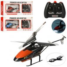 Вертолет 33024K на радиоуправлении 2.4GHz, аккумулятор 27см, свет, гироскоп, USBзарядн, 3цвета