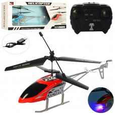 Вертолет 655 на радиоуправлении, акумм, 33, 5см, 3, 5канала, гироск, свет, USBзарядн, 2цв