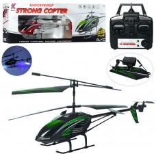 Вертолет 705 на радиоуправлении, аккумулятор 57см, гироскоп, свет, запасн.лопасти, 2цвета