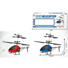 Вертолет CX138 на радиоуправлении, аккумулятор 19см, свет, USBзарядное, 2цвета