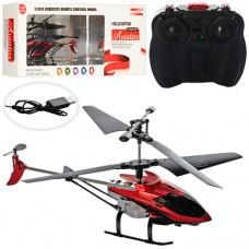 Вертолет E2208 на радиоуправлении, аккумулятор гироскоп, 19, 5см, свет, 3, 5 канала, USBзарядное, 2цв