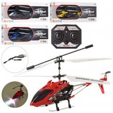 Вертолет LD-661 на радиоуправлении, аккумулятор 19см, свет, USBзарядн, 4цв