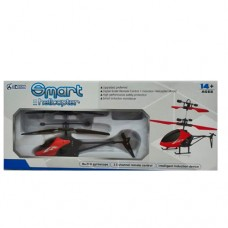 Вертолет ZX-8599A на радиоуправлении, аккумулятор 21см, USBзарядное, свет, звук, 4цвета