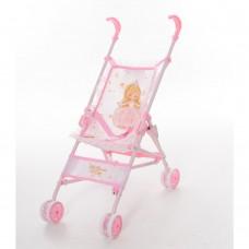 Коляска 90028 для куклы, прогулочная, 27-50-в55, 5см, ремень безопасностике