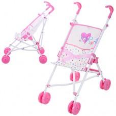 Коляска D-81023 для куклы, прогул, 26-41, 5-54, 5см, колеса8шт, двойн, 7см, трость