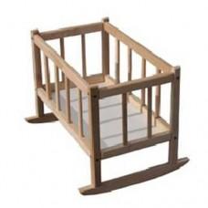 Кроватка для кукол 25х45х35с БУК 171016 ТМ Дерево