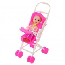 Кукла 018-K29 10см, коляска 17смке