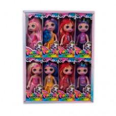 Кукла 2138 POO, 15см, 16шт 4вида