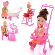Кукла 9905-86-88 B 10см