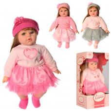 Кукла M 3864 UA мягконабивная, 43см, муз укр -песня, 3вида, бат таб