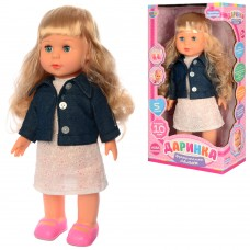 Кукла M 3882-1 UA Даринка, 41см, муз-зв укр, ходит, песня, на батарейках