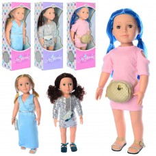 Кукла M 4047-48-49 UA 47см, сумочка, муз, зв укр -песня, стих, 3вида, бат таб