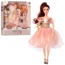 Кукла M 4374 UA шарнирная, 30 см, туфли/сумочка