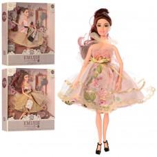 Кукла M 4379 UA шарнирная 30 см, расческа, собачка/сумочка/цветок