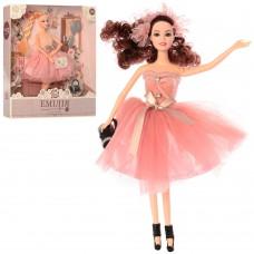 Кукла M 4390 UA 29 см, шарнирная, расческа, сумочка