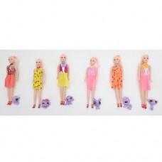 Кукла Q8-3 26см, фигурка 4, 5см, микс видовке