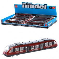 Поезд TN-1079 металл, 16, 5см, 12шт