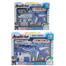 Аэропорт ZC337CD самолет, транспорт, инерц, дор.знаки, 2вида