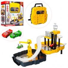 Гараж 6344 ТЧ, стройплощадка, машинка 2шт, в чемодане