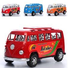 Автобус 595-14-15 инерционный, 16,5 см