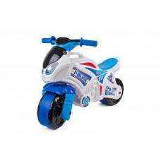 Детская каталка мотоцикл Технок 5125 Police, белый