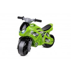 Детская каталка-мотоцикл Технок 5859, зеленый