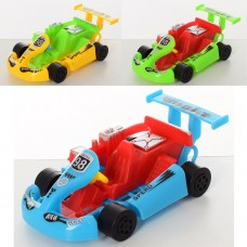Машина 828-28 инерционная, гоночная, 10см, микс цветовке