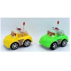 Машина 89-91 заводная, 11, 5см, полиция, свет, 2 цвета, бат таблке