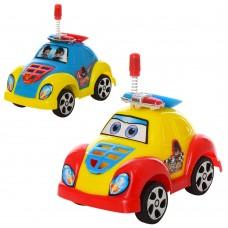 Машинка 2210 инерционная, полиция, 10см, 2цвке