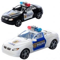 Машинка 286 инерционная, полиция, 2 цвета
