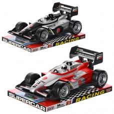 Машинка 8068 инерционная, гоночная, 23-14-9см, 2 цвета, в слюде