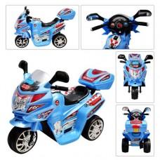 Детский мотоцикл Bambi M 0637 Honda, голубой