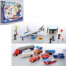 Аэропорт 7788C самолет, транспорт, фигурки