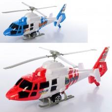 Вертолет 2288A заводной, 35см, вращается винт, ездит2 цветаке