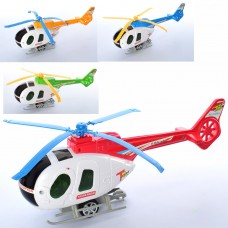 Вертолет 3488 29см, заводной, подвижные лопасти, микс цветовке