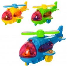 Вертолет 551-1 заводной, 13, 5см, 3цветаке