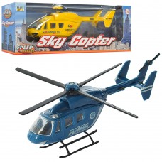 Вертолет 659W металл, 13см, 2вида