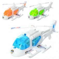 Вертолет 6696 заводной, 23см, свет, 3видаке