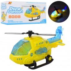 Вертолет 8042 24см, звук, свет, ездит, поворот360