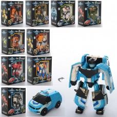 Трансформер 339-10 ТВТ, робот+транспорт, 11см, 10видов
